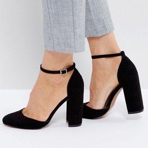 ASOS Priya Ankle Strap Chunky Block heel